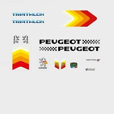 Peugeot Triathlon Bicycle Frame Stickers - Decals - Transfers n.520