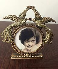 "Edgar Berebi ""Vivienne Frame"" 3923/9, Museum Gold, 2"" Opening, Made in the USA"