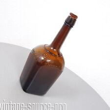 alte Maggi Flasche Großhandelsflasche Nr. 6 Braun mit Korken + Stöpsel 20er J.