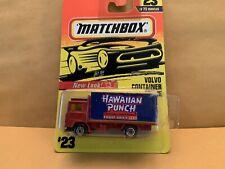 "Matchbox Superfast No. 23 Volvo Container Code 3 ""Hawaiian Punch"""