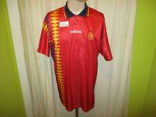 "Spain "" Rfef "" adidas European Championship Qualification Jersey 1994-1996 Size"