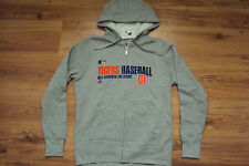 DETROIT TIGERS WOMEN'S MAJESTIC MLB TEAM FAVORITE AUTHENTIC HOODED SWEATSHIRT