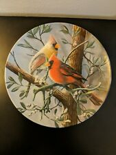 "Original Knowles collector plate. ""The Cardinal"" 8654c"