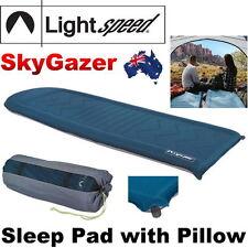 Lightspeed Outdoors SkyGazer with FlexForm Sleep Pad PVC-Free Self Inflating NEW