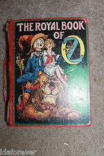 The Royal Book of OZ  1921 by L Frank Baum HC BOOK  in Poor cond