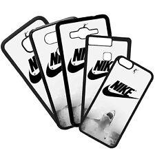 Fundas de Móvil Carcasas de Móviles Modelo Logotipo Nike Moda Tiburón Deporte