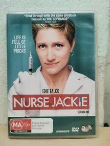 Nurse Jackie : Season 1 seriess 1 (DVD, 2010, 3-Disc Set) R4