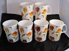 Rose of England Tulip Mug - set of 6