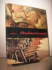 IL REALISMO IN GERMANIA - MENSILI D'ARTE DEI  FABBRI EDITORI 1969