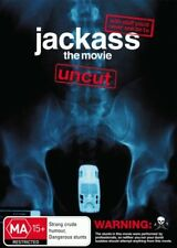 Jackass: The Movie (Uncut) = NEW DVD R4