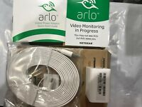 Authentic NEW Arlo 10 FT Charger Cable /W USB Charger For Pro, Pro 2, Q & LIGHT