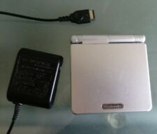 GBA SP AGS-001 Silver Nintendo Gameboy Advance SP Working and Clean With Charger