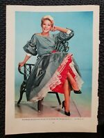 Kim Novak OR Mario Lanza - 1959 Book Print