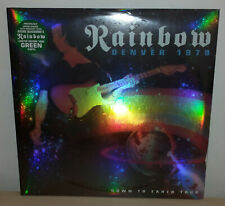RAINBOW - DENVER 1979 - GREEN - ONLY 1000 - 2 LP