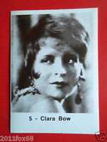 figurines actors stickers akteurs cards figurine i divi di hollywood 5 clara bow