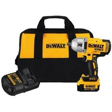"Dewalt 20v Max XR 1/2"" Impact Wrench DCF899M1 With Battery, Charger & Carry Bag"