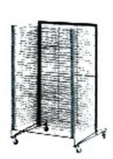 School Specialty Mobile Drying Rack - 43 H x 26.5 W x 27 L in.