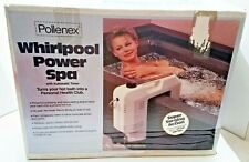 Pollenex Automatic Timer Power Spa Massage with Whirlpool Action