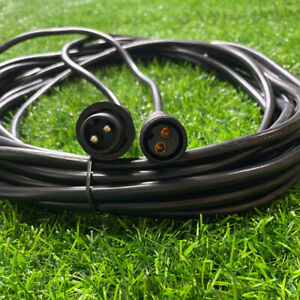 Waterproof Extension Cable For Festoon String Lights 2 Pin 5m/10m Extension Cord