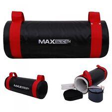 HTH 10KG riempito POWER SABBIA BORSA PALESTRA TRAINING DI FORZA MMA BOXE Crossfit Fitness