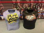 "WWE Wrestling Mattel Elite Lot of Enzo Big Cass Shirts Accessories 6-7"" Figures"