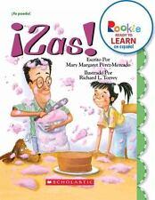 Zas! / Splat! (Rookie Ready to Learn En Espanol) (Spanish Edition)-ExLibrary