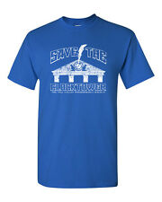 SAVE THE CLOCK TOWER BTTF Back To the Future Hill Valley Men's Tee Shirt 1454