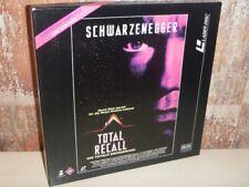 TOTAL RECALL Die totale Erinnerung - BOX 2x LASERDISC LD - FSK 18 Schwarzenegger