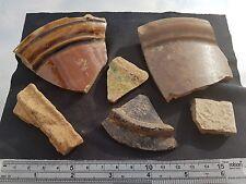 BEL LOTTO DI Misto medievale a 19th C. Pottery frammenti tutti presenti in Inghilterra L38a