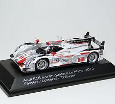 AUDI r18 e-tron Quattro Winner vincitore 24h HRS. le Mans 2012 Fässler SPARK 1:43