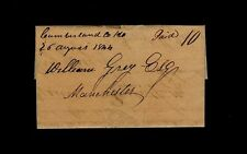 """Cumberland Co. Ho."" 1p 1844 Virginia Tobacco Letter John Crowder - William Gray"