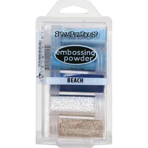 BEACH EMBOSSING Kit Collection Embossing Powders Stampendous EK22 NEW