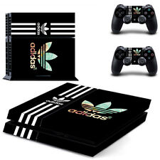 Adidas PS4 Skin Sticker Decal Vinyl Console and 2 Controllers FREE SHIPPING