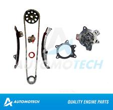 Timing Chain Kit & Water Pump For Toyota Echo Yaris Prius 1.5L 1NZFE 00-10