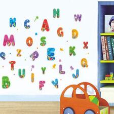 Alphabet Letters Large Nursery Wall Sticker Decoration Wall Art