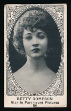 1922 W585 Actor Series (Like E123) #56 BETTY COMPSON (Paramount Pictures)