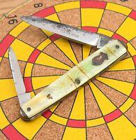 Vintage Remington R6645 Master Knife Celluloid Sleeveboard Senator Pocket Knife