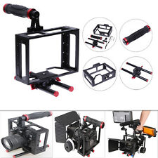 Aluminum Alloy CNC Protective DSLR Camera Cage Stabilizer Metal Top Handheld Set
