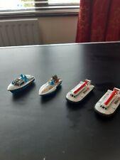 Matchbox Superfast Boat x2 & 2 Hovercroft