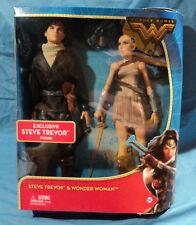 Dc Comics Wonder Women With Exclusive Steve Trevor Action Figure, 2 Pack, New