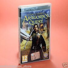 ARAGORN'S QUEST The lord of the rings SONY PSP usato