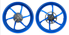 Forged Aluminum Alloy Wheels Yamaha YZF-R3 MT-03 15-2019 Matt Blue 6 Spoke