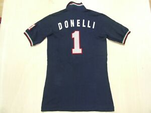 MAGLIA SHIRT MAILLOT DA DONNA PALLAVOLO VOLLEY ITALIA ITALY DONELLI 1 tg. L