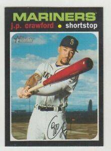 (8) J.P. Crawford 2020 TOPPS HERITAGE BASE CARD LOT #353 SEATTLE MARINERS