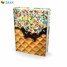 Easy Apply, Reusable Book Covers 1 Pk. Best Jumbo 9x11 Textbook Jackets for Back