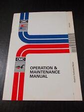 1992 OMC Evinrude Johnson Electric Outboard Operation Maintenance Manual 212128