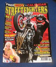 STREETFIGHTERS MAGAZINE JANUARY 2004 - SUZUKI GSX-R600 ROADTEST