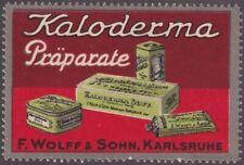 F-Ex14480 Germany Cinderella 60x40mm Kaloderma Soap Shaving Wolff Sohn Poster