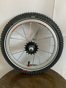 "Woom 14"" Kids Tire And Wheel New"