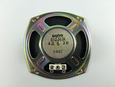 4 .5 Inch Round Speaker good for Cigar Box Guitar Amplifier - Amp 4 Ohm New